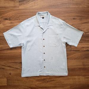 Tommy Bahamas silk shirt size XL